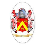 Hine Sticker (Oval 50 pk)