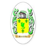 Hinchliffe Sticker (Oval 50 pk)