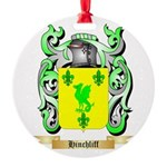Hinchliff Round Ornament