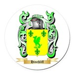 Hinchliff Round Car Magnet