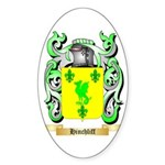 Hinchliff Sticker (Oval 50 pk)