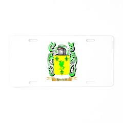 Hinchliff Aluminum License Plate