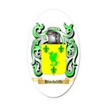 Hinchcliffe Oval Car Magnet