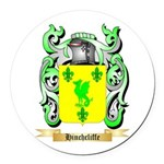 Hinchcliffe Round Car Magnet