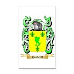 Hinchcliff Rectangle Car Magnet
