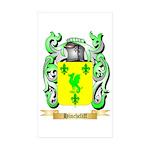 Hinchcliff Sticker (Rectangle 50 pk)
