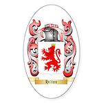 Hilton 2 Sticker (Oval 50 pk)