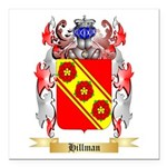 Hillman Square Car Magnet 3