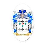 Hilliard Oval Car Magnet