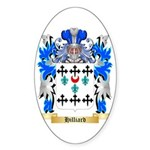 Hilliard Sticker (Oval 10 pk)