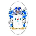 Hilliard Sticker (Oval 50 pk)
