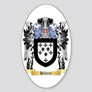 Hillery Sticker (Oval)