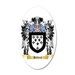 Hillery 20x12 Oval Wall Decal