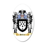 Hillery 35x21 Oval Wall Decal