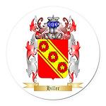 Hiller Round Car Magnet