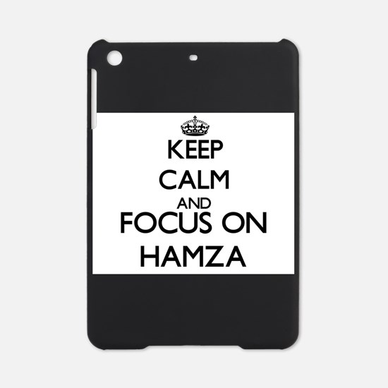Keep Calm and Focus on Hamza iPad Mini Case
