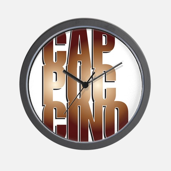 Cappuccino Wall Clock