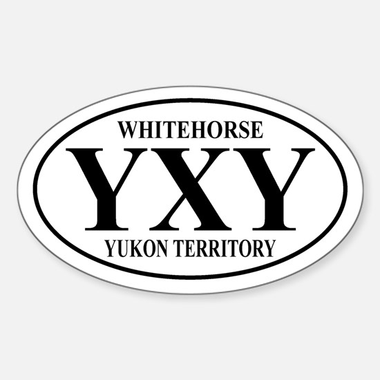 Whitehorse Oval Decal