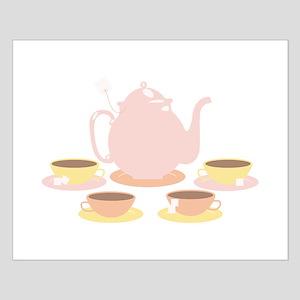Pink Tea Set Posters