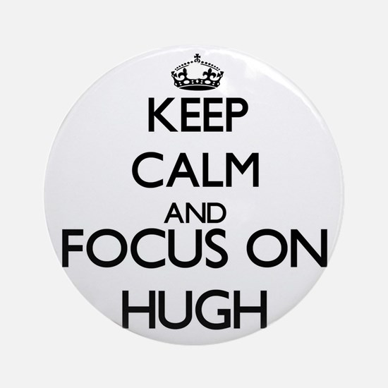 Keep Calm and Focus on Focus onh Ornament (Round)