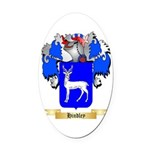 Hindley Oval Car Magnet