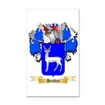 Hindley Rectangle Car Magnet