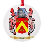 Hinde Round Ornament