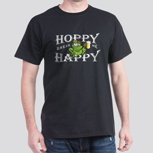 Hoppy Makes Me Happy Beach Frog T-Shirt