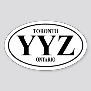 Toronto Oval Sticker