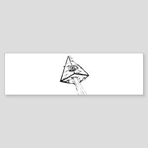 Illuminati Bumper Sticker