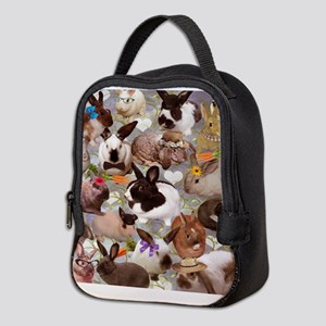 Happy Bunnies Neoprene Lunch Bag