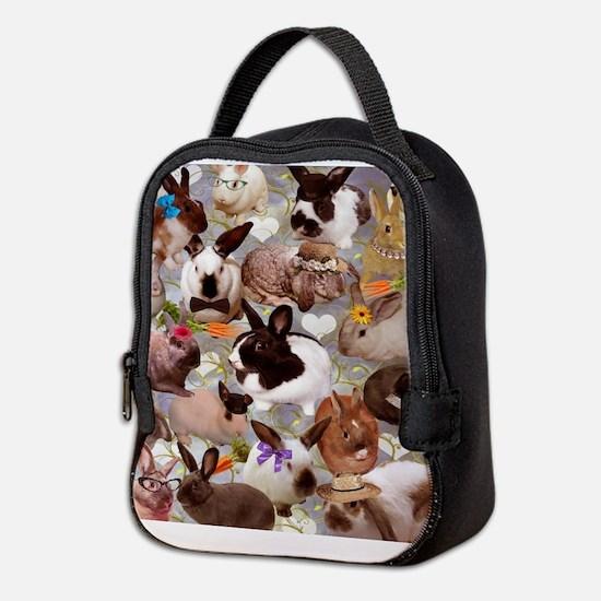Happy Bunnies Neoprene Lunch Bag
