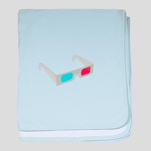 3d glasses baby blanket