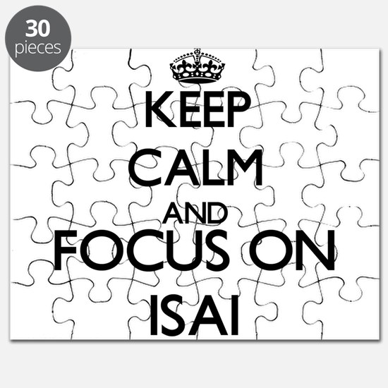Keep Calm and Focus on Isai Puzzle