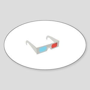 3d glasses Sticker