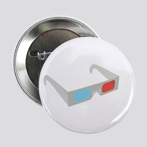 """3d glasses 2.25"""" Button (10 pack)"""