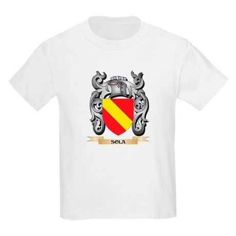 Sola Coat of Arms - Family Crest T-Shirt