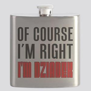 I'm Right Dziadek Drinkware Flask