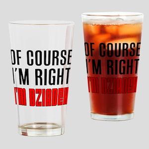 I'm Right Dziadek Drinkware Drinking Glass
