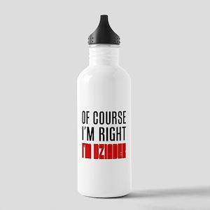 I'm Right Dziadek Drinkware Water Bottle