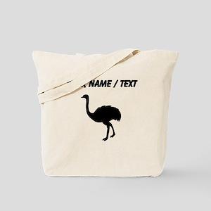 Ostrich Silhouette (Custom) Tote Bag