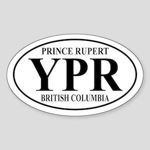 Prince Rupert Oval Sticker