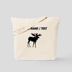 Moose Silhouette (Custom) Tote Bag