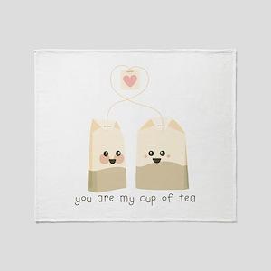 My Cup of Tea Throw Blanket