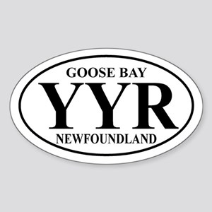Goose Bay Oval Sticker