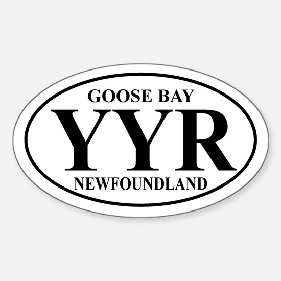 Goose Bay Oval Decal