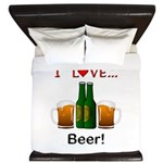 I Love Beer King Duvet