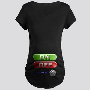 Power Up! with this Maternity Dark T-Shirt