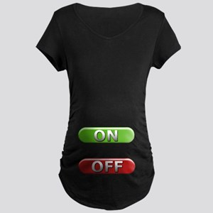 The Rescue Switch Maternity Dark T-Shirt