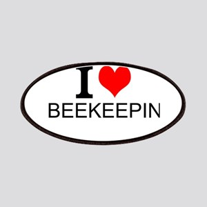 I Love Beekeeping Patches